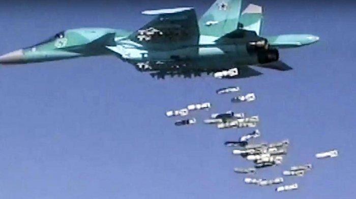 Rusia Tambah Armada Pesawat Bomber Supersonik Sukhoi SU-34