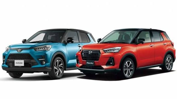 Toyota Raize & Daihatsu Rocky Fokus Mesin Turbo